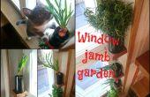 Jardín de jamba de ventana