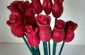 Madera San Valentín / día rosas de una rama de madres