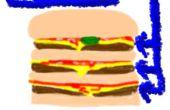 ¿Barato triple hamburguesa de Mc Donalds