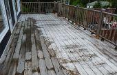 Limpiar cubierta - cómo limpia cubierta con madera limpiador y lavador