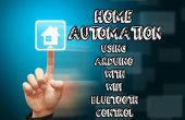 Automatización casera con arduino wifi, bluetooth y control remoto IR