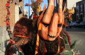 La gran calabaza Halloween traje