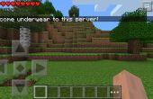 Cómo hacer un servidor temporal de Pe de Minecraft