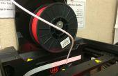 Adaptador de carrete de MakerBot 5th Gen filamento genérico