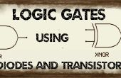 Puerta lógica con diodos y Transistor