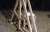 Hacer el marco y el brazo de un Trebuchet (proyecto parcial)