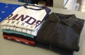 Cómo doblar una camisa (el camino de la libertad lavandería)