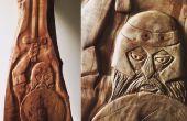 El Guerrero céltico (sólo herramientas de mano) de talla