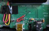 Mod un GPS de un TomTom para cargar via USB