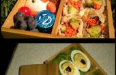 Caja de almuerzo Bento madera