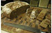 Pan casero de masa madre - 100% trigo integral