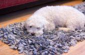 DIY camiseta Jersey Shag alfombra