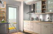 Cómo instalar LED tiras bajo gabinete de cocina