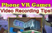 IPhone Android Google cartón VR juegos 3D plataforma de grabación de vídeo!
