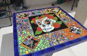 Mesa de mosaico mexicano