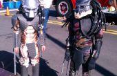 Disfraces de depredador - Bio cascos, piel de látex, armadura y cuchillas