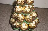 Mini calendario de árbol de Navidad de Ferrero