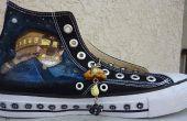 Personalizar los zapatos con acrílico