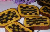 """""""Estera de bambú"""" Roll Cake"""