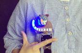 DIY un pin electrónico precioso buho