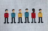 Punto de Cruz de Star Trek: El serie Equipo Original