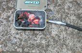 Cómo hacer una fragua mini fuera de una lata Altoids