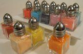 Hacer tus propia decoración color azúcares!