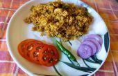Lento cocinado pollo Biryani