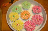 Cupcakes de flor de malvavisco