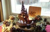 Navidad guirnalda o bajo costo y fácil