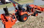 Eliminación máquina removedora de nieve del Kubota Tractor