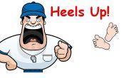 Lucha contra postura Coaching dispositivo (pivote) - previene el pie de pivote Slacking por los ladridos
