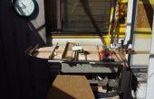 Hidrodeslizador RC de una antigua puerta