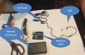 Construir un XBMC/KODI remoto con Arduino, protector del Sensor IR y VB.NET