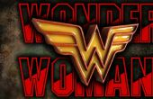 Emblema de la mujer - madera y resina