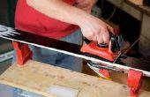 Cómo hacer una cera rápida hierro esquís