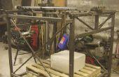 Máquina CNC para formar grandes piezas de espuma de poliestireno