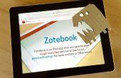 Aprender Zotebook con un monstruo de Zote