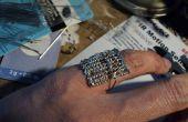Ábaco de soldado funcional anillo de Pinky