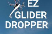 Lanzamiento de un planeador vía Quadcopter!
