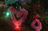 Cómo hacer decoraciones de cristal de bórax para impresionar y sorprender a los niños