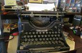 Proyecto APC: Funcionamiento interno de la máquina de escribir