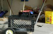 Construir un carro de cajón de leche