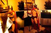 Cómo hacer armadura Spartan de cartón