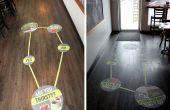 Móvil picado vida - instrucciones de uso gráfico de piso