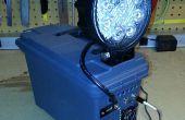 Portable el solar - lámpara de trabajo recargable