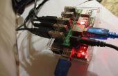 Frambuesa Pi Torrent, Samba y DLNA con 3 + unidades de disco duros