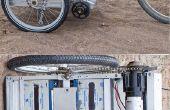 Remolque de bicicleta eléctrica con alimentación de Greg
