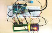 Sensor de humedad con Disp de LCD y LED indicador de Temp &