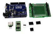 Usando Arduino UNO como DAC de alta resolución 3-CH